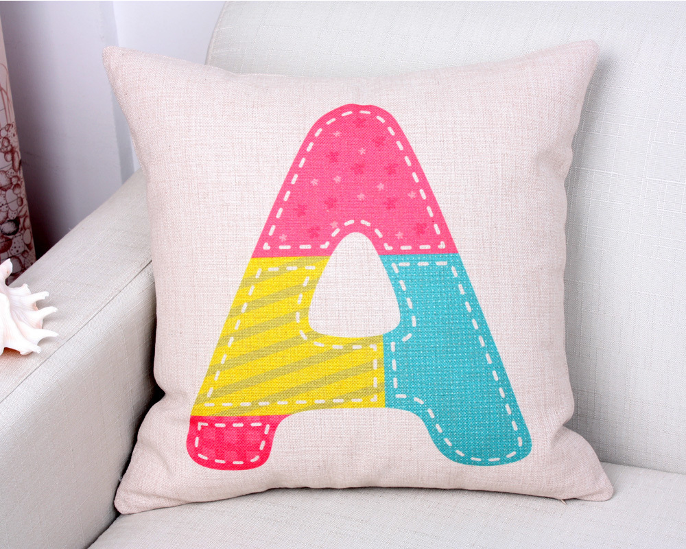 Letter customized a c e hd hot sofa cotton pillowcase personal letter customized a c e hd hot sofa cotton pillowcase personal pattern sublimation printed indoor cushion cover in pillow case from home garden on thecheapjerseys Gallery