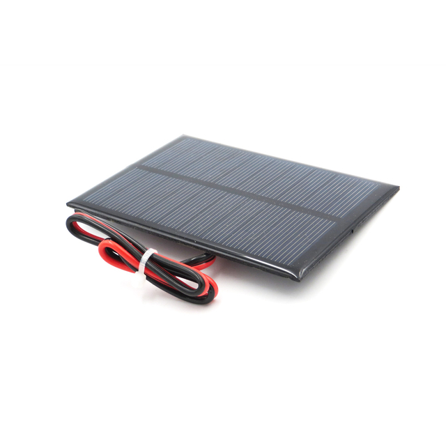 5 V 200mA 1 Watt W extend wire Solar Panel Polycrystalline Silicon DIY Battery Charger Small Mini Solar Cell cable toy 5V Volt 2