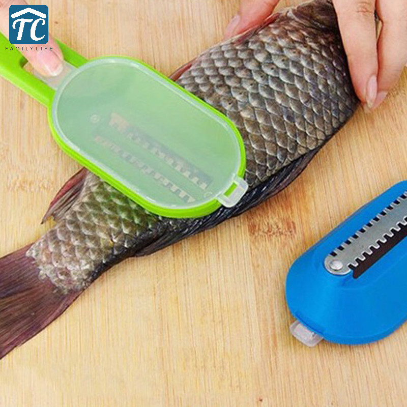 Clean Convenient Supply Kitchen Cooking Tool Fish Cleaning Tool Machine Knife Creative Home Peeler Scraping Fish Scales Kill
