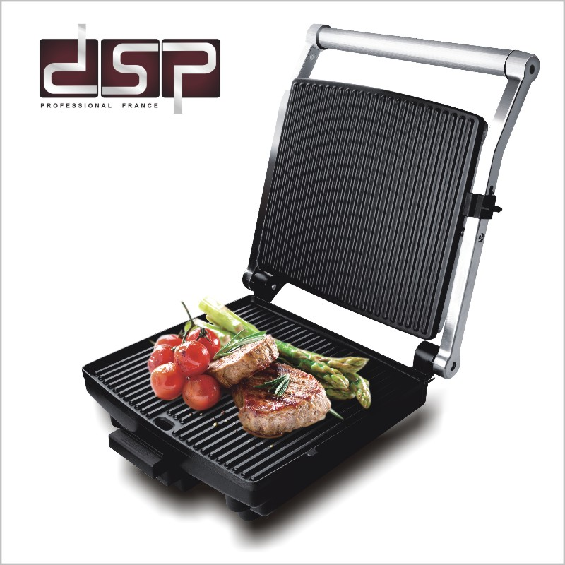 DSP KB1002 Electric Griddle Household Barbecue Grill Electric Hotplate Smokeless Grilled Meat Pan Electric Grill electric fry grooved griddle electric griddle grill fry pan electric flat pan