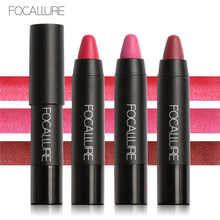 Focallure 3pc Matte Lipstick Pencils Waterproof Makeup Pigment Beauty Red Lips Baton Lip Stick