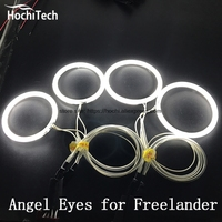 HochiTech Excellent CCFL Angel Eyes Kit Ultra Bright Headlight Illumination For Land Rover Freelander 2 L359