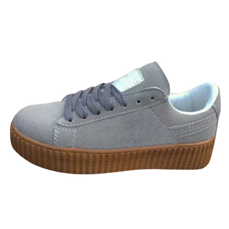 Al por mayor zapatos de suela gruesa zapatillas par hombres y mujeres estudiantes solo zapatos