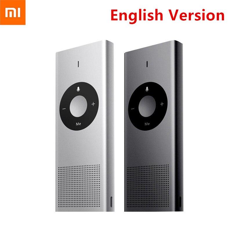 [English Version] Original xiaomi Mijia MI ai Translator 14 Language 7 Day Standby 8H Continuous Microsoft Translation Engine