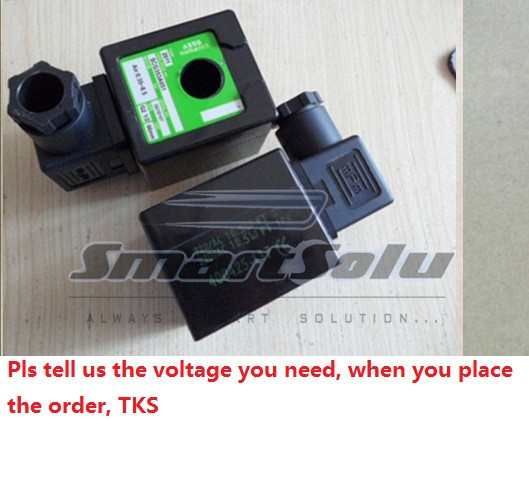 Free Shipping ?PCS Electric DIN solenoid Coils for ASCO pulse solenoid Valve 400425-642 , pulse valve solenoid type free shipping repairing part 3 pin din plug led solenoid valve connector ac 220v