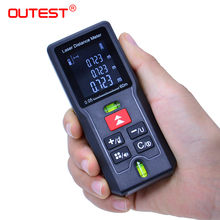 OUTEST Mini Digital laser distance Meter trena laser Tape measure Diastimeter tester tool 100M-80M--60M-40M Laser Rangefinder(China)
