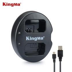 KingMa NP FW50 NPFW50 FW50 podwójny kanał akumulator USB ładowarka do Sony Sony NEX 3 NEX 5 NEX 6  usa/ue/AU NP FW50 w Ładowarki do aparatu od Elektronika użytkowa na