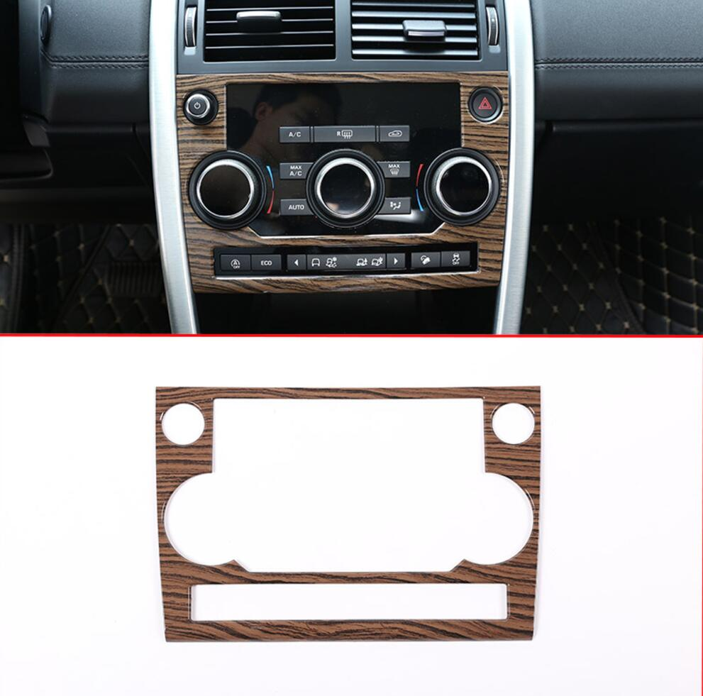 Sands Wood Grain ABS For Land Rover Discovery Sport 15 17 Car All Kinds of Interior Cover Trim Frame Decoration Car Styling in Interior Mouldings from Automobiles Motorcycles
