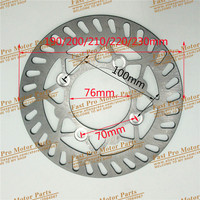 190 200210 220 230mm Brake Disc Plate For Dirt Bike Pit Bike KLX CRF BEST Bike
