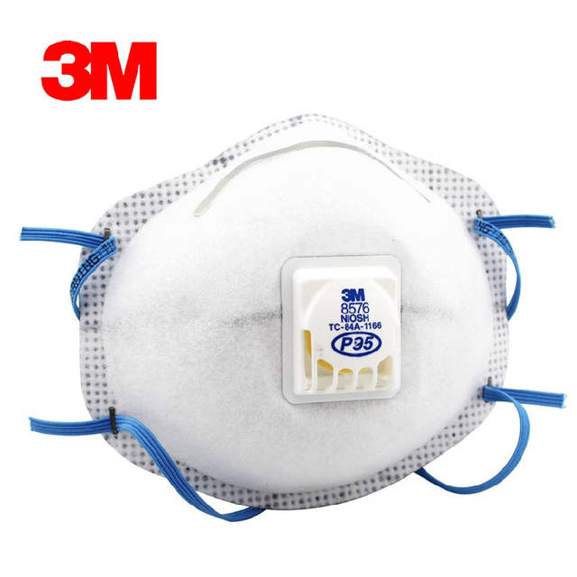 Safety Masks Standard 5 Pm2 Acid 3m Respirator Anti P95 8576
