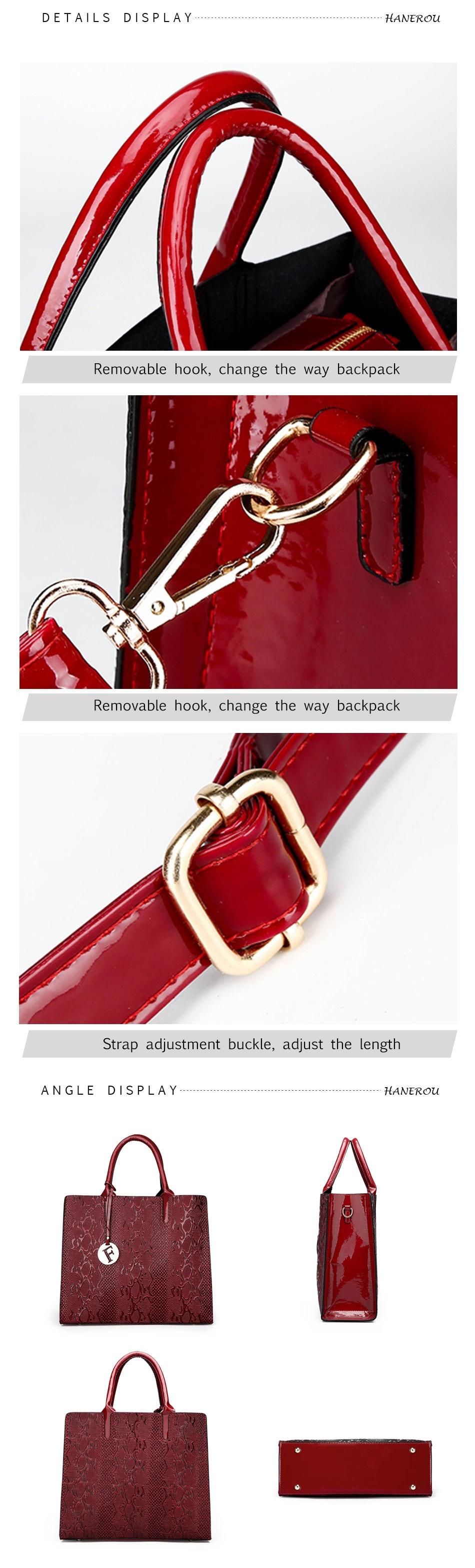f98730d375 Méret: nagy kapacitású női táskák. Anyag: Kiváló minőségű PU bőr.  HANEROU10_01 HANEROU10_02 HANEROU10_03 HANEROU10_04 HANEROU10_05
