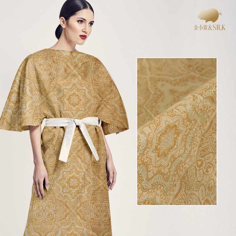 147cm silk jacquard brocade fabric 42mm dress jacket silk jacquard fabric chinese silk brocade fabric wholesale