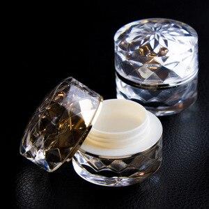 Image 3 - 1 stücke 7g acryl creme box Doppel emulsion flasche Hohe ende essenz probe box (mit innen abdeckung) unter abfüllung großhandel BQ234