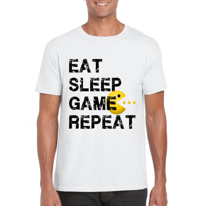 Китай Стиль Мода Рок геймер Pac Man X Box PS4 PC Ретро Bithday подарок присутствует 80 s футболка мужская брендовая одежда хип-хоп Топ