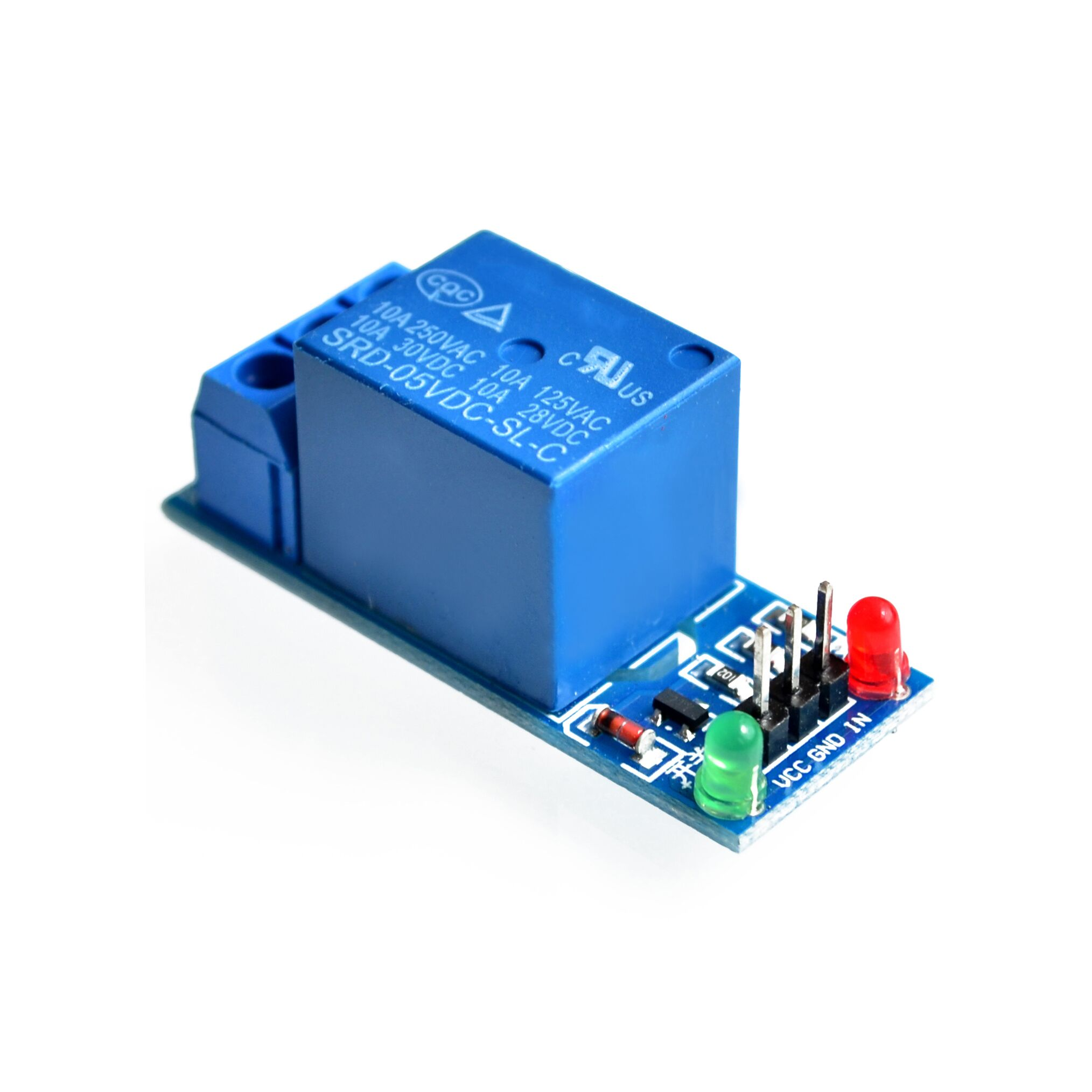 2pcs Mini 1 Channel 5v Dc Dpdt Relay Board Double Pole Throw Spdt Micro 5vdc New Level Trigger One Module Interface Shield For Pic Avr Dsp