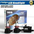 Car Styling High Power P HILIPS  LED Headlight H8 H9 H11 90W 6000K 10800LM Replacement Fog Head Light Lamp White Bulbs Pair HID