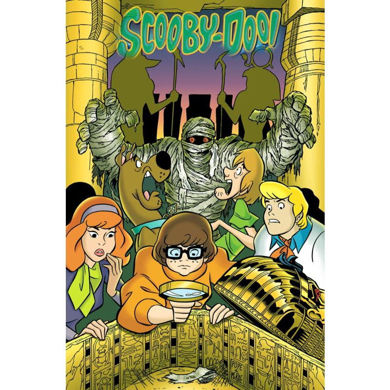 SCOOBY DOO c CANVAS PICTURE