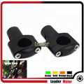 Motorcycle Accessories Universal 28mm Handle bar Clamp Handlebar Riser adjustment kit Black