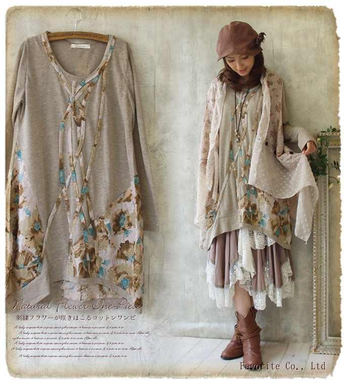 Винтажное платье Mori Girl из хлопка с цветочным принтом для женщин свободного размера плюс Новинка Платье Одежда mori lolita Туника хиппи бохо vestido
