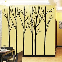 Large 200x288cm Flower Tree Branch Wall Sticker Stickers Wall Decals Bedroom Home Decor Home Decoration Wallpaper стоимость