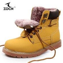 Big Size 35-46 Winter Men Boots Genuine Leather Boots Men Winter Shoes Men Military Fur Boots For Men Shoes Zapatos Hombre