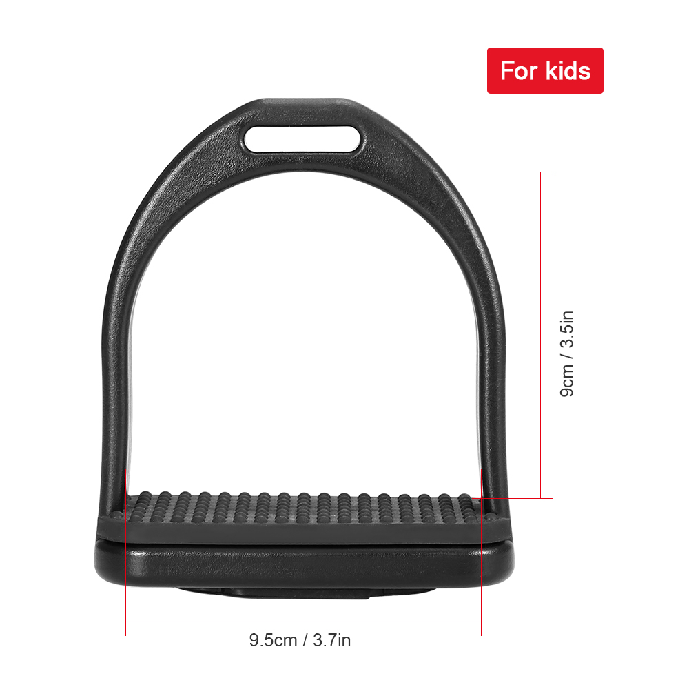 Image 4 - 2 PCS Horse Riding Stirrups Plastic Horse Saddle Anti skid Horse Pedal Super Lightweight Equestrian Safety Equipment-in Horse Care Products from Sports & Entertainment