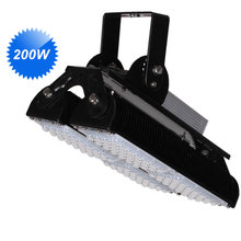 Led Lamp 200W Led Floodlights 65 125 degree adjustalble led tunnel light ac85-277v bridgelux 3030 meanwell driver(China)