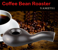 Quality Ceramic Coffee Roaster Gas Stove Roasted Coffee Beans Kerosene Lamp Roasted Coffee Machine Kitchen Supplies