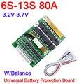 DYKB 6 S-13 S 35A 50A 80A w/Balance BMS LiFePO4 литий-ионный аккумулятор 24 в 36 в 48 в 7S 8S 10S 12S Электрический инструмент ups