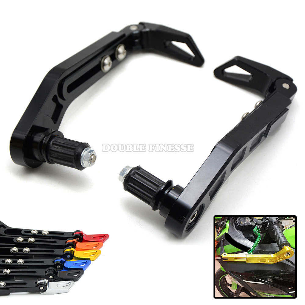 7/8 22mm Aluminum alloy Universal Motorcycle Motorbike Lever Guards Protector for KTM SX EXC 250 125 690 390 DUKE universal adjustable motorcycle steering damper stabilizer adjustable for honda ktm duke 125 200 390 690 250 exc 65 sx 150 sx