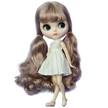 где купить Lovely Blyth Doll With Beautiful Long Hair Joint Body 30cm 12inches BJD Doll With Gift Box Packing Hot Welcome DIY Doll Toys по лучшей цене