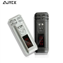 Multimedia mini fm micrófono inalámbrico de Mano micrófonos Que Llevaba un micrófono guía de enseñanza conferencia discurso