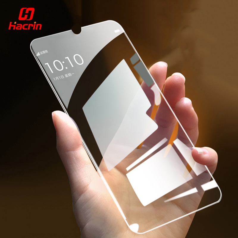 Hacrin Glass For Redmi Note 7 Tempered Glass Transparent Anti-Explosion Screen Protector Film Glass For Xiaomi Redmi Note 7