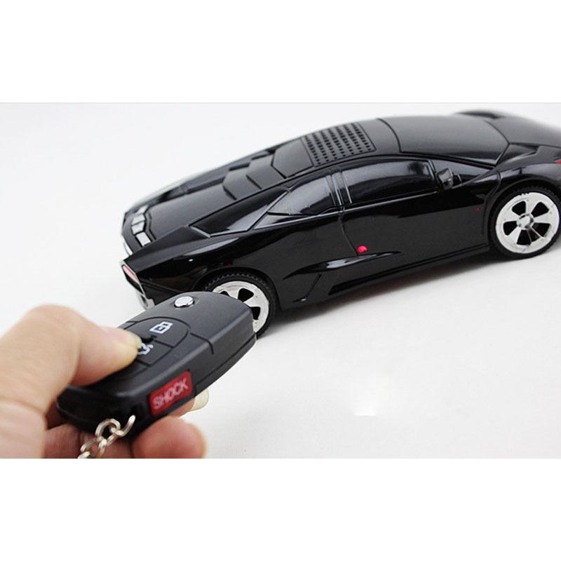 2019 Hot Sale 3 Button Electric Shock Gag Car Key Remote Control Trick Joke Prank Toy New Design Wholesale Drop Shipping