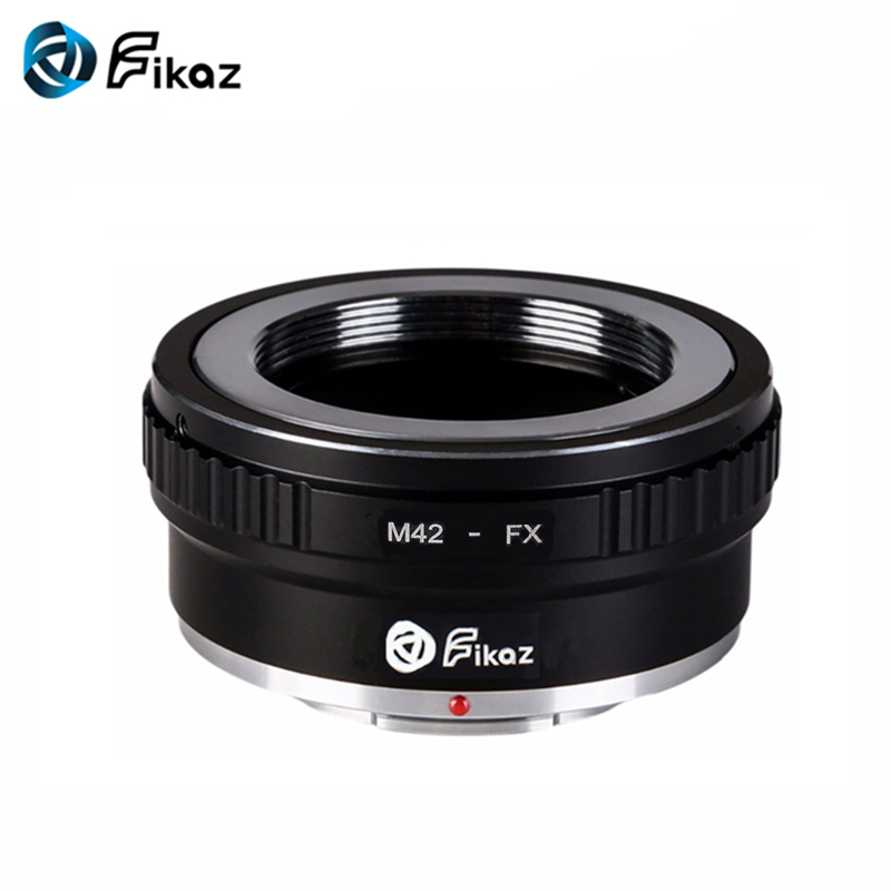 Fikaz M42-FX Camera Lens Mount Adapter Ring For M42 Lens To Fujifilm Fuji FX Mount X-Pro1 X-E1 X-M1 X-A1 X-E2 Camera Body