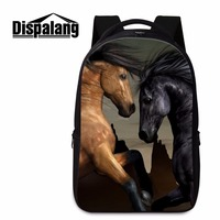 Large Capacity Back To School Backpacks For Boys Teenagers Schoolbags Horse Pattern Bookbags Cool Day Pack