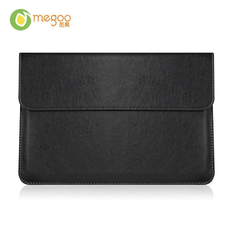 Cubierta de funda de cuero Megoo para Macbook Air 11.6