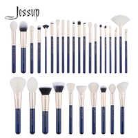 Jessup brush 30PCS Prussian Blue/ Golden Makeup brushes set Beauty tools Make up brush POWDER FOUNDATION EYESHADOW CONCERLER