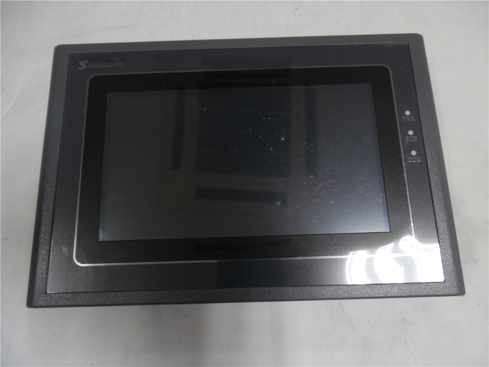 7 inch HMI Touch Screen 7 800*480 Ethernet USB Host SD Card 2COM SK-070AS with Free Cable&Software new original mt8071ie weinview hmi touch screen 7 inch 800 480 ethernet 1 usb host