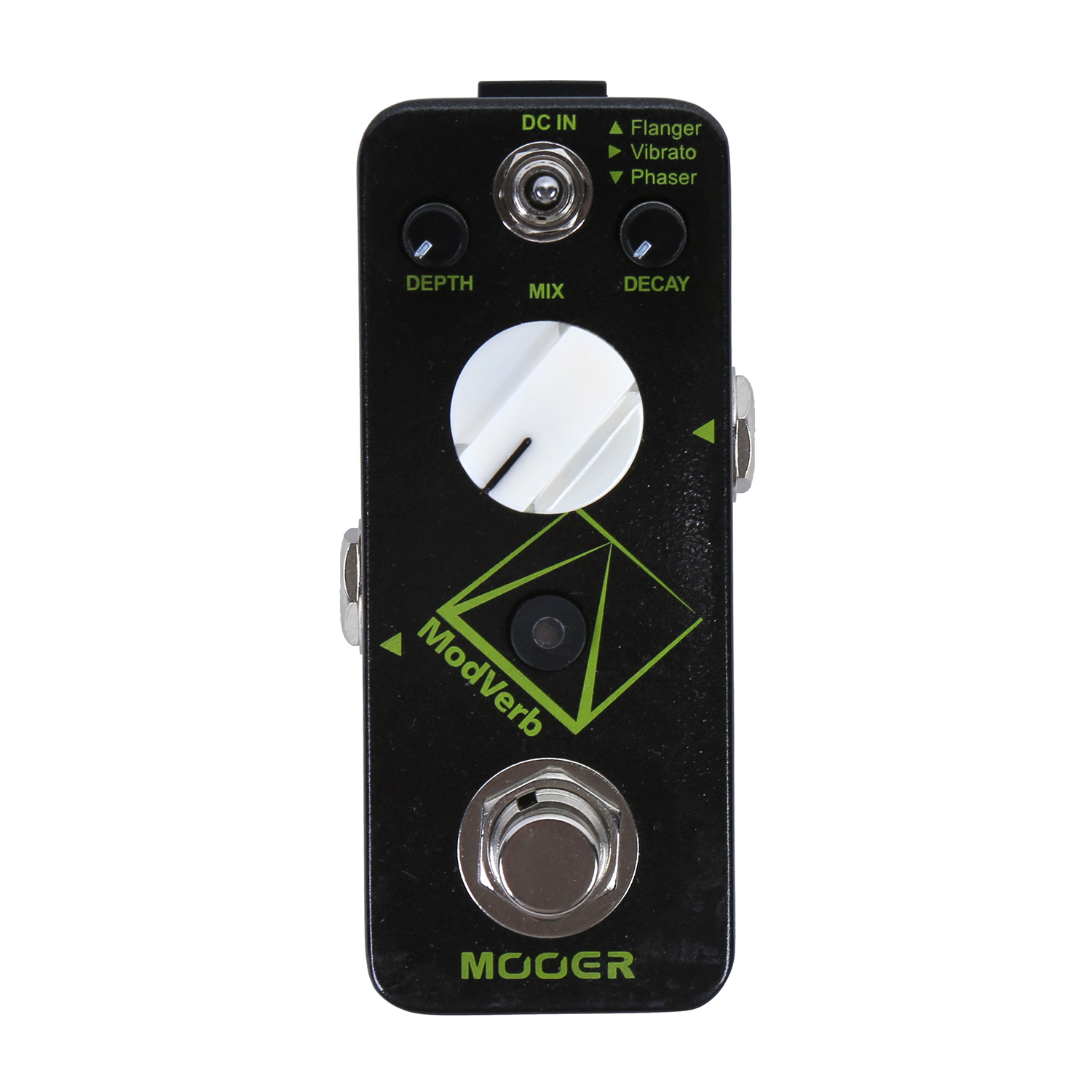 Mooer Modverb Modulation Reverb Pedal Guitar Effect Depth Decay Control Flanger Vibrato Phaser Switch MDV1 ботинки дерби с пайетками 26 39