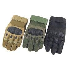tactical font b gloves b font outdoor full finger army font b gloves b font antiskid