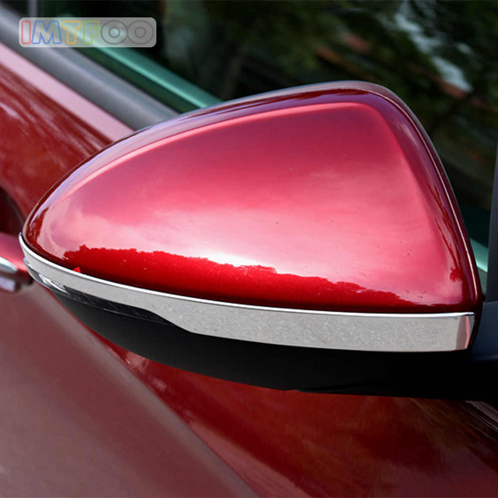 IN ACCIAIO INOX POSTERIORE VISTA LATERALE SPECCHIO TRIM DECAL MODANATURE PER BUICK REGAL PER OPEL INSIGNIA ASTRA K 2017 2018 AUTO STYLING