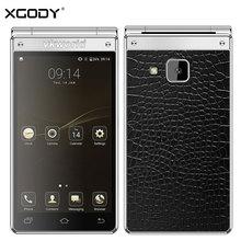 "Vkworld T2 Plus Flip Smartphone 4.2""Dual Screen 3GB RAM+32GB ROM Android 7.0 13MP+5MP Dual SIM 2000mAh Flip Phone 4G Cell Phone"