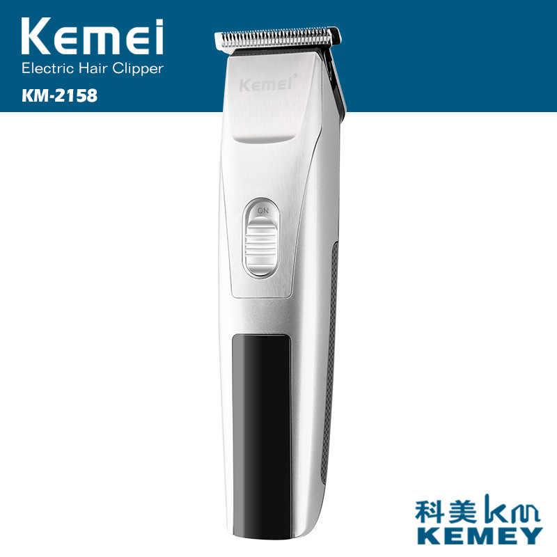 Триммер для волос Электрический станок для бритья для бороды kemei перезаряжаемая машинка для стрижки волос перезаряжаемая Бритва для стрижки волос оригинальная упаковка