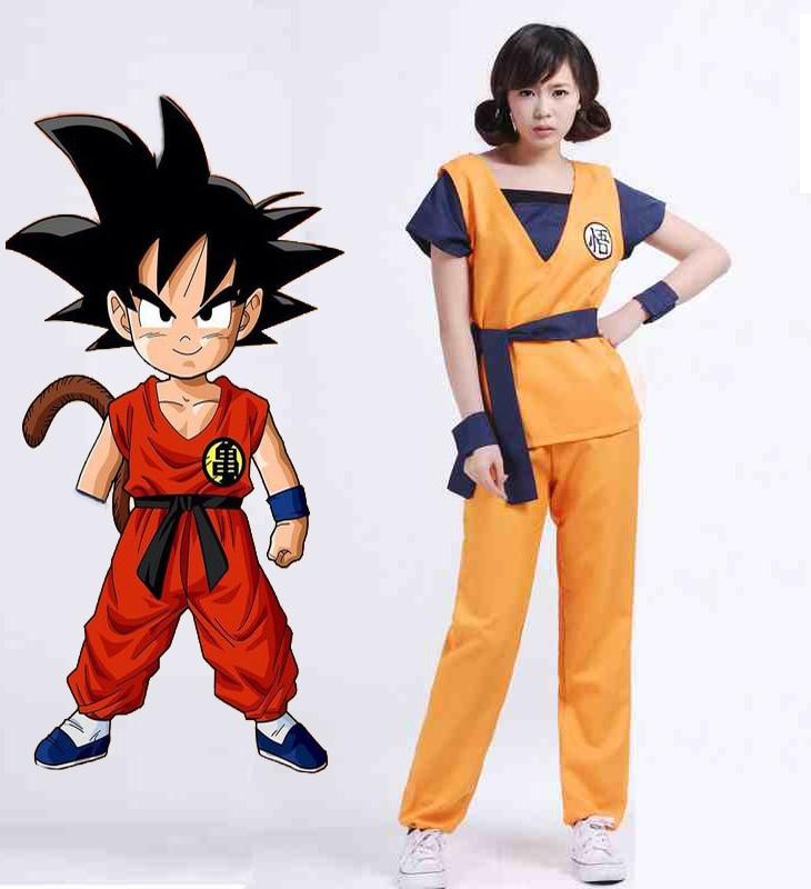 Dragon ball z women costume