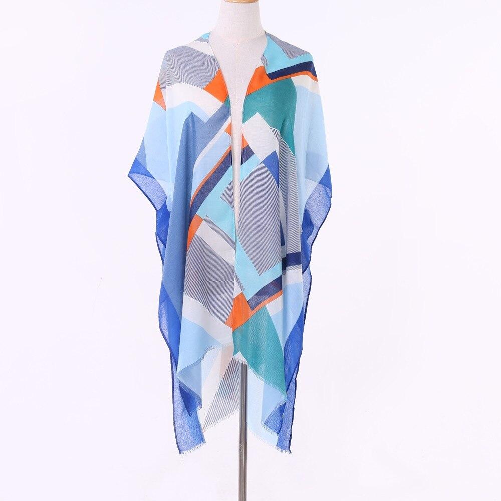 Women Scarf Soft Cotton Linen All-match Shawls and Wraps Pashmina Warm Female New Design