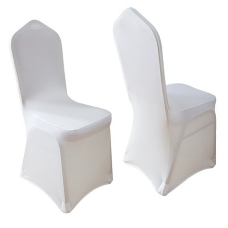 150pcs Lot Wholesale Universal White Stretch Spandex Chair