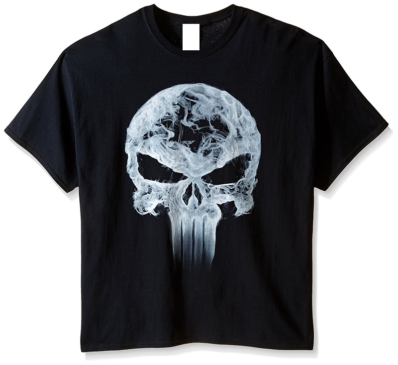 New Arrival Male Tees Casual Boy T Shirt Tops Discounts MenS Punisher Crew Neck Short Sleeve Office Tee