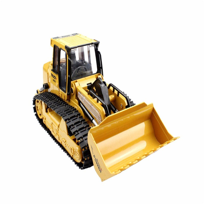 RC Truck 6CH Bulldozer Caterpillar Track Remote Control Simulation Engineering Truck Christmas Gift Construction Model Toy aliexpress com buy rc truck 6ch bulldozer caterpillar track  at nearapp.co