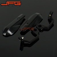 Handle Bar Brush Bar Hand Guards Handguard Protector Protection Plastic 22mm 28mm Black Racing Pit Bike
